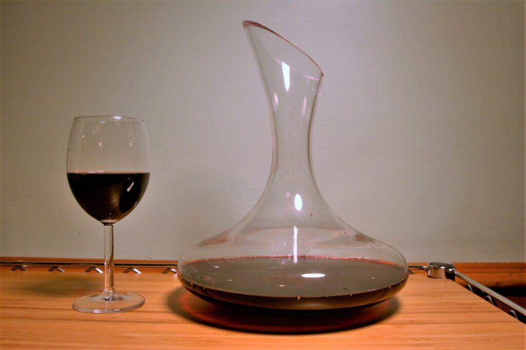 decanter vino decantico